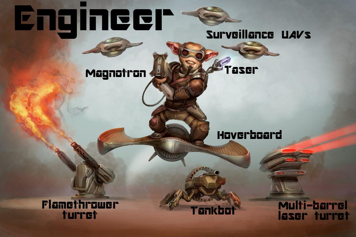 Elgan male engineer