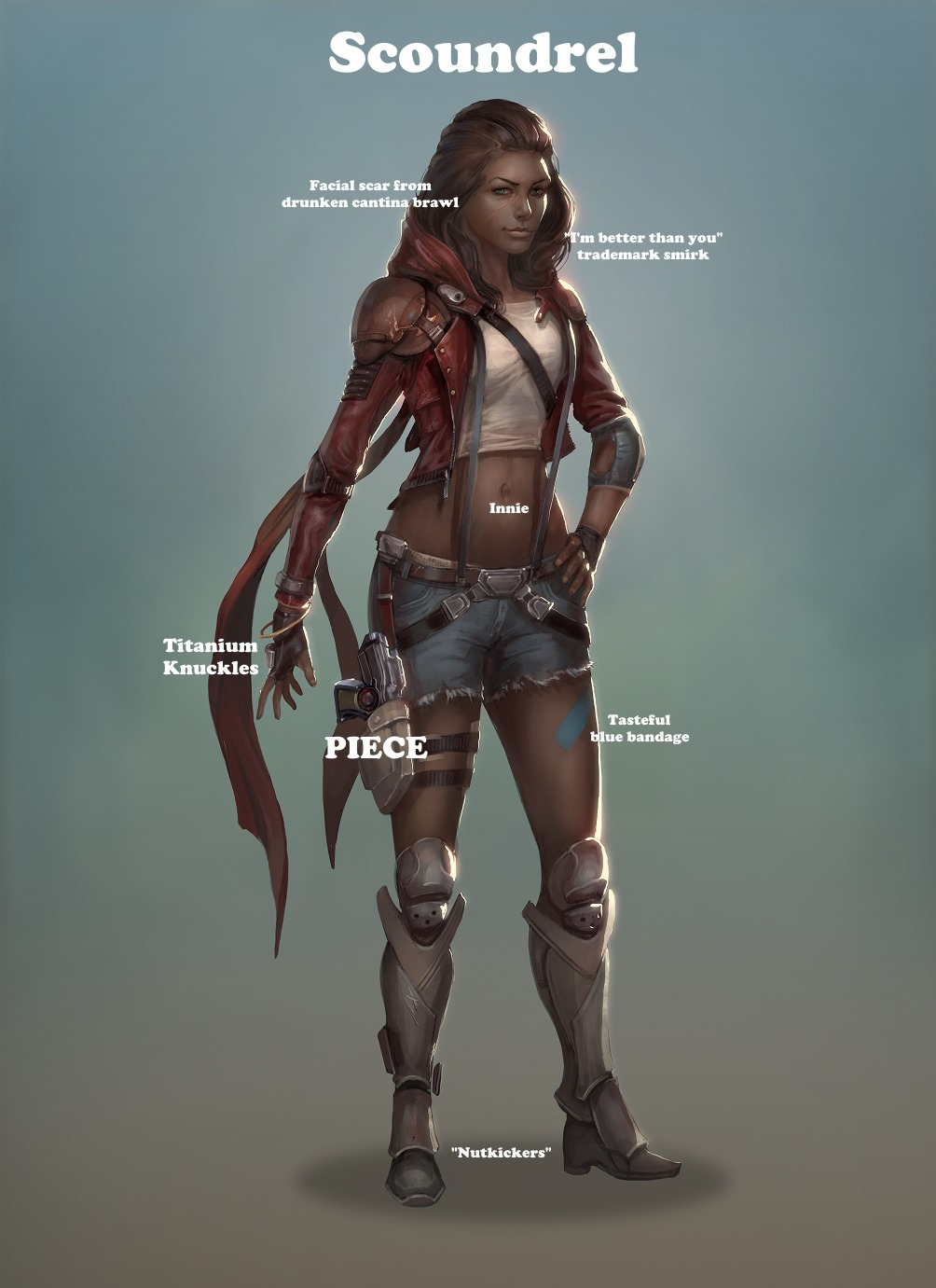 Human Female Scoundrel