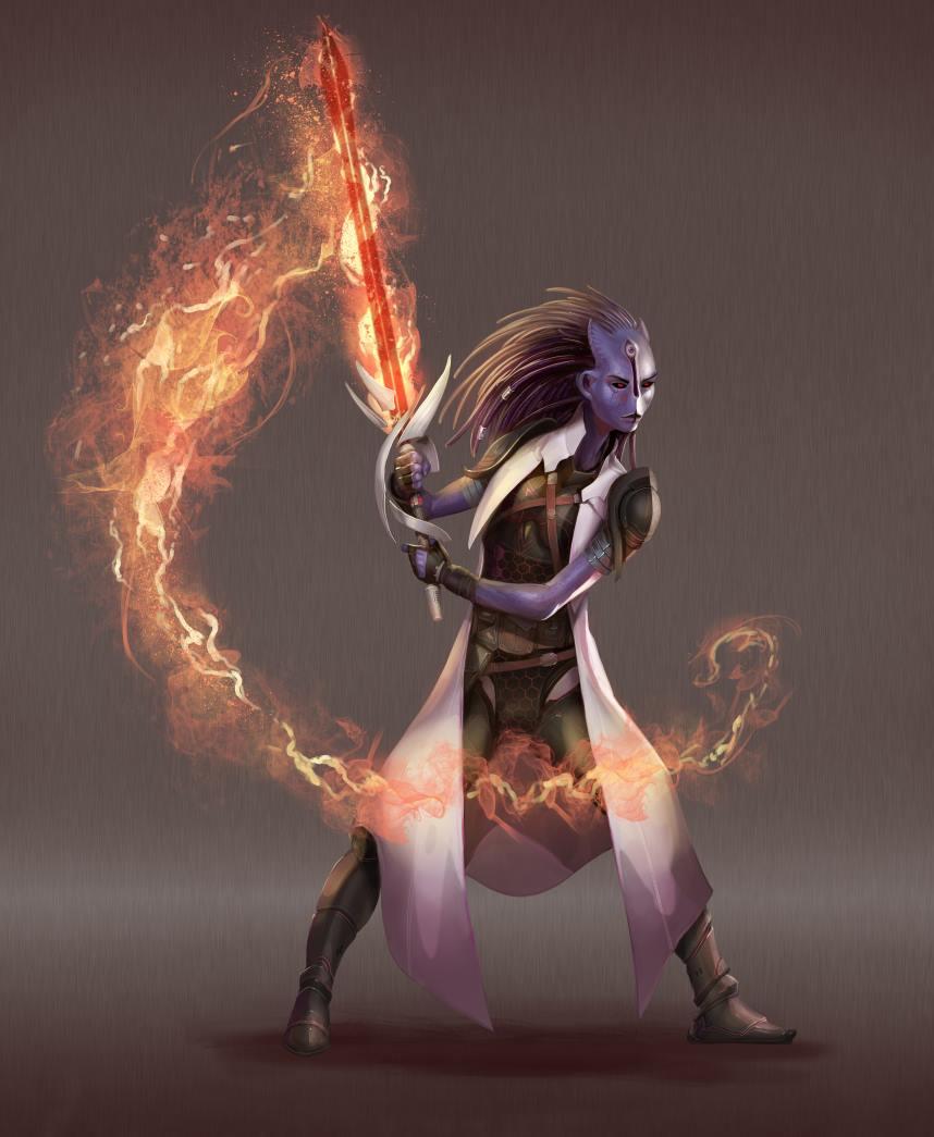 A female Jin Fury.
