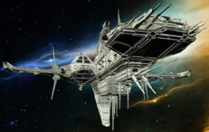 A starship.
