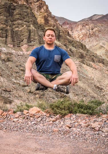 me - meditating
